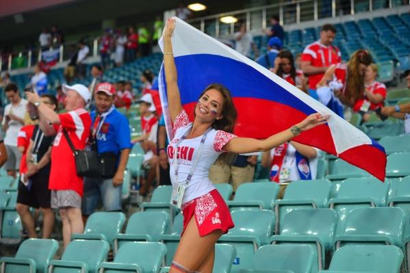 Чемпионат мира по футболу показал не только красивую игру, но и красивых болельщиц
