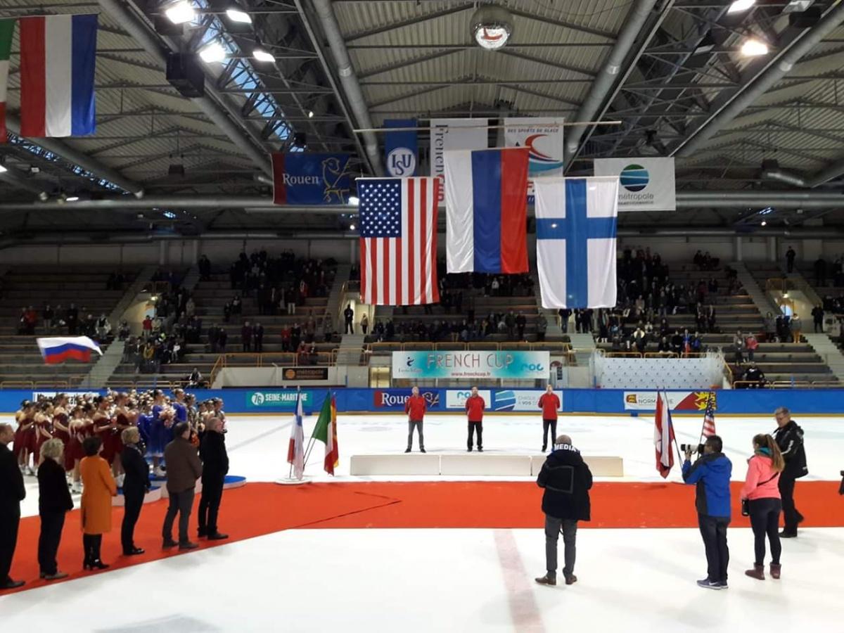 Екатеринбурженки обошли команды из США и Финляндии