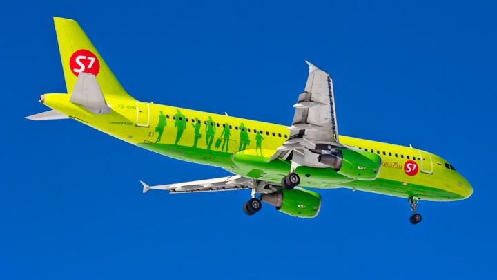 Авиакомпания S7 возобновила рейсы из Новосибирска в Горно-Алтайск