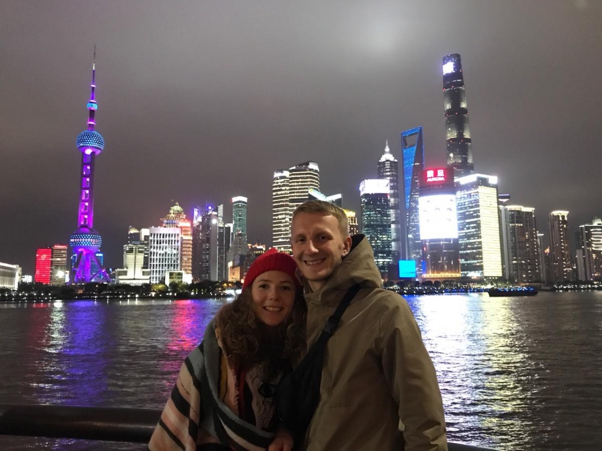 Ребята в Шанхае