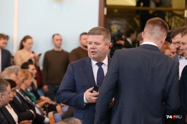 Бывший спикер Челябинской гордумы Станислав Мошаров перешёл на работу в правительство региона