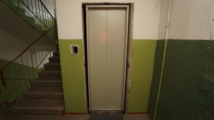 В Перми скончался мужчина, упавший в шахту лифта в девятиэтажном доме