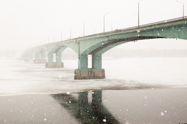 На Ярославль надвигается сильный снегопад