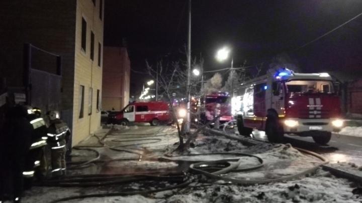 Смертельный пожар в Сызрани унёс две жизни
