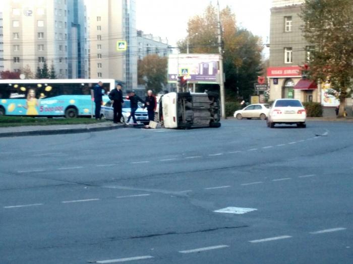 В полиции уточнили, что авария обошлась без пострадавших