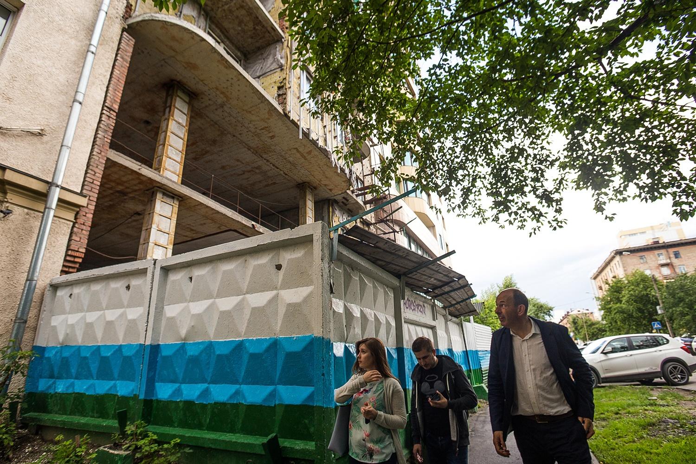 Многолетний долгострой в центре города голландского архитектора шокировал...