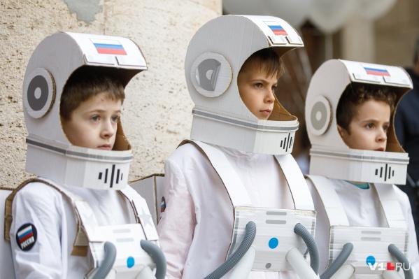 Волгоградские мальчишки мечтают стать покорителями космоса