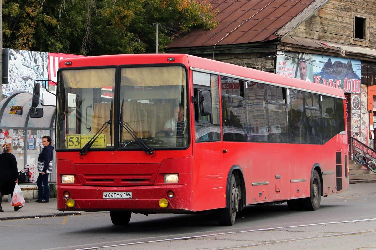 Автобус работал на 53-м маршруте