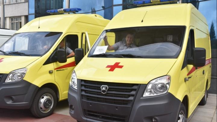 Медведев поручил купить школьные автобусы и машины скорой помощи для новосибирцев