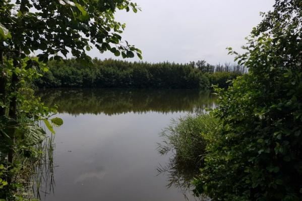 То самое злополучное озеро