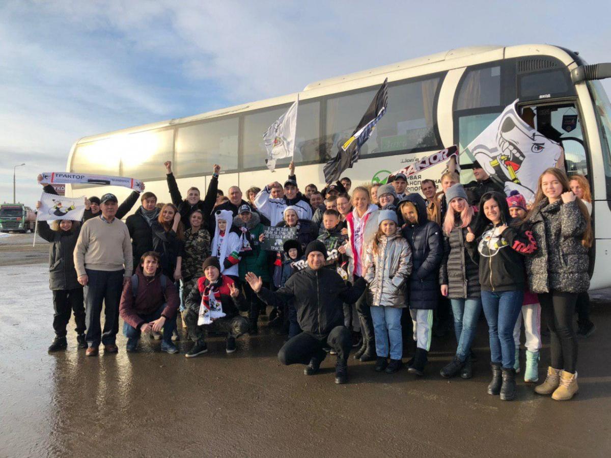 В автобусе от клуба ехали 45 фанатов