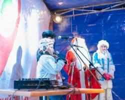 Перед ТК «Центральный» открылся ледовый городок