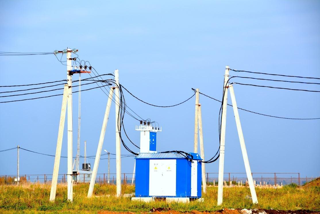 В поселок проведен газ и электричество