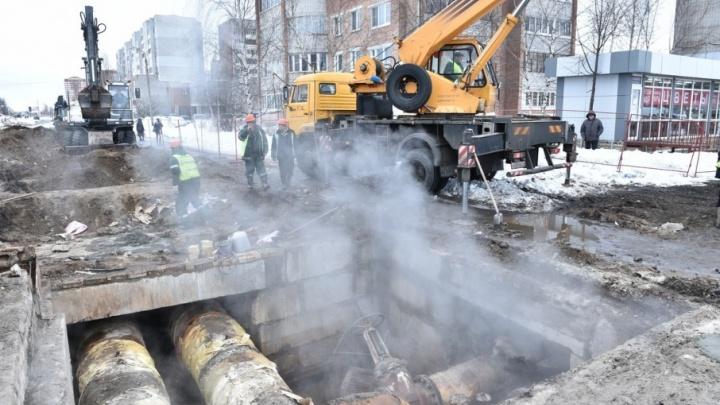 «Дома сидим в фуфайках»: после ремонта на теплосетях ярославцы замерзают в квартирах