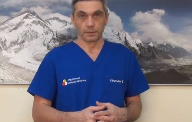 Врачи краевой больницы пришили пальцы пациенту и показали на видео процесс операции