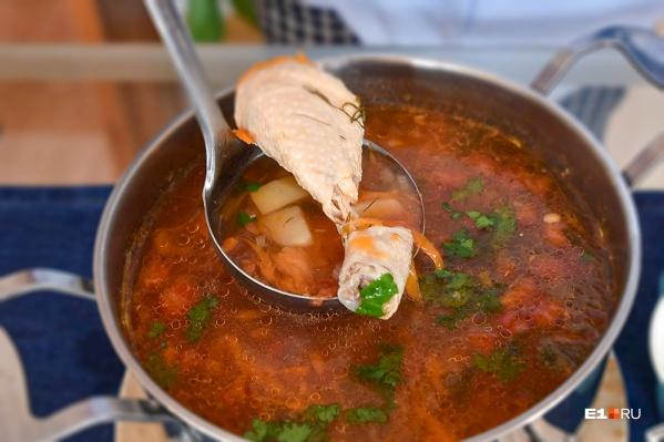 С костями суп варить не советуют