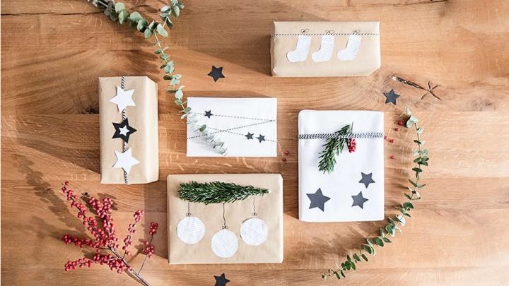 3 простые идеи упаковки новогодних подарков