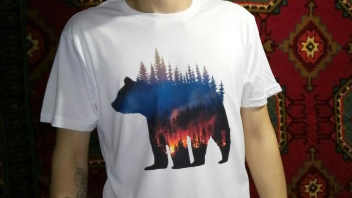 В Перми начали продавать футболки в защиту горящих лесов Сибири