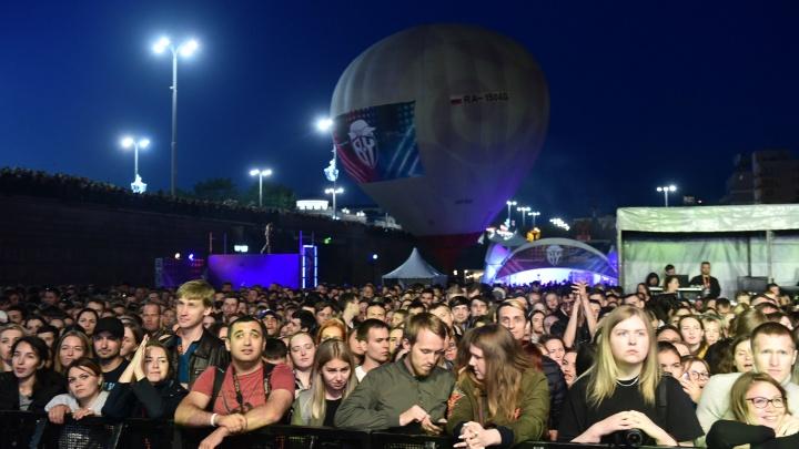 Несмотря на давку и конфликт с Хаски:«Уральская ночь музыки» получила престижную награду