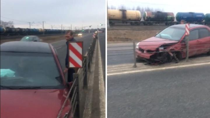 «Осколки в лицо, оба пьяные»: в Ростове зачинщиков аварии поймали во время побега с места ДТП