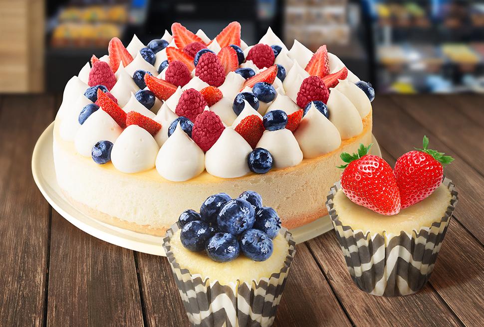 Чизкейки в городе: Kuzina представила легендарный десерт