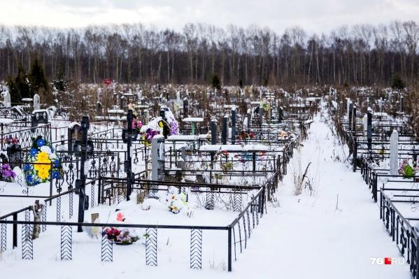 На Осташинском кладбище в Ярославле мест под захоронения практически не осталось