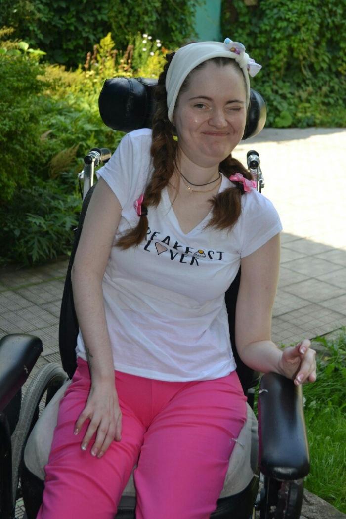 Анастасия после выписки из больницы