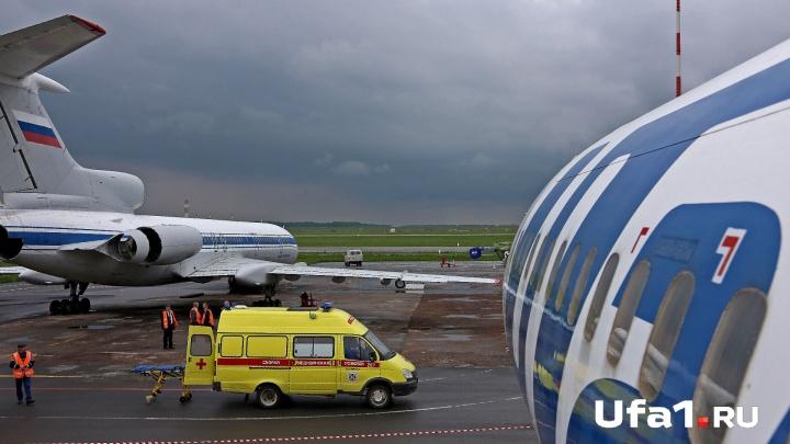 В Казани экстренно приземлился самолет из Уфы