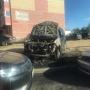 «Машина взорвалась»: сегодня ночью в Брагино сгорел автомобиль