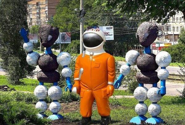 Около музея «Самара Космическая» снесли «космопупса»