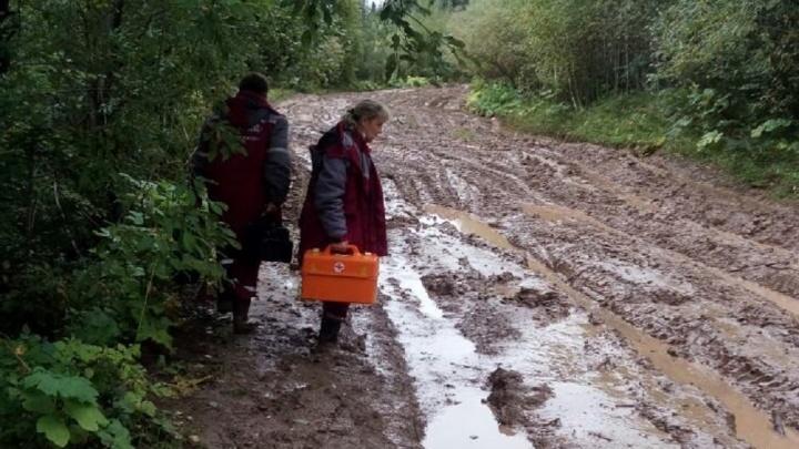 «Вот так мы ездим на вызовы»: врачи скорой помощи Кунгура пожаловались на плохие дороги. Видео