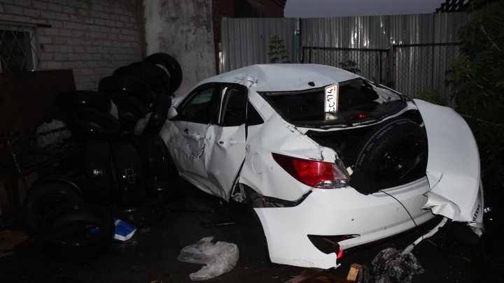 В Челябинске опрокинулась машина «Яндекс.Такси», погибла 18-летняя пассажирка