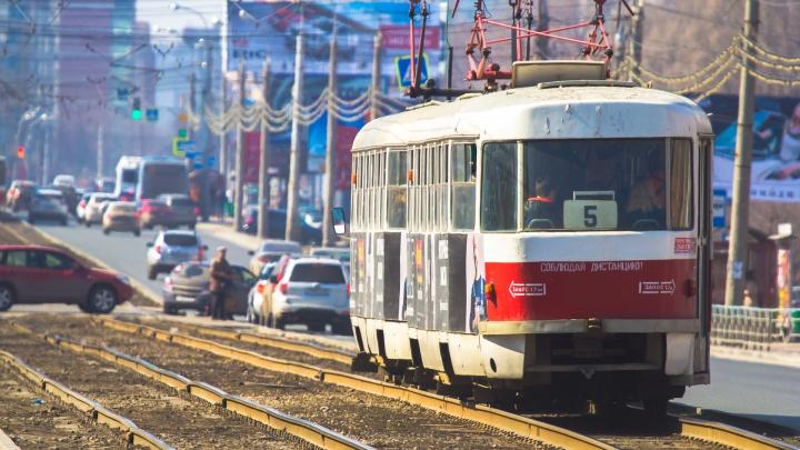Областной Минтранс сообщил, когда трамваи вернут на Хлебную площадь