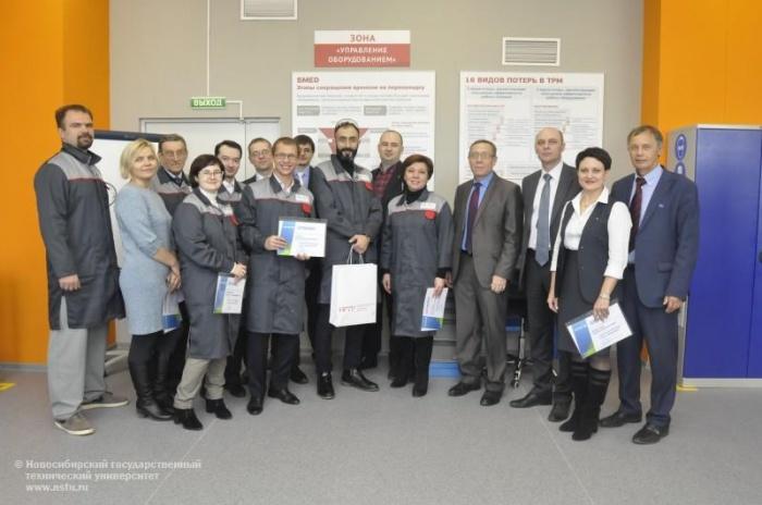 Открытие первой за Уралом вузовской лин-лаборатории состоялось в опорном НГТУ