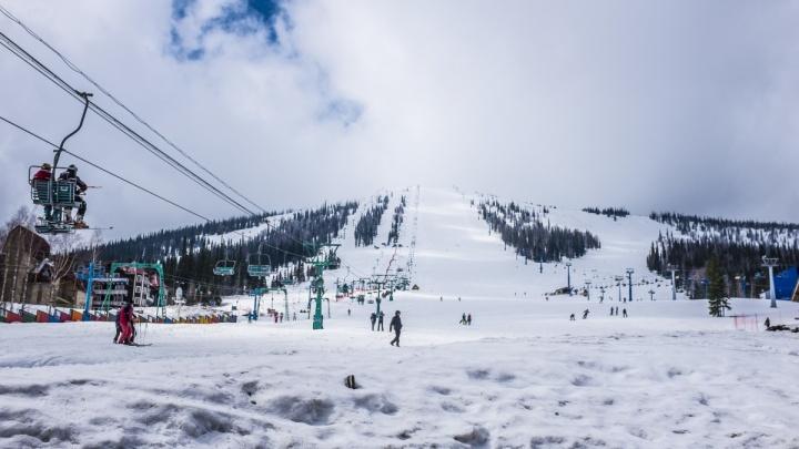 Лыжник из Новосибирска попал в реанимацию после столкновения со снегоходом в Шерегеше