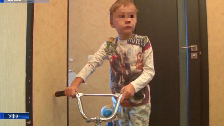 Пятилетний уфимец выиграл суд у водителя внедорожника, обвинявшего его в ДТП
