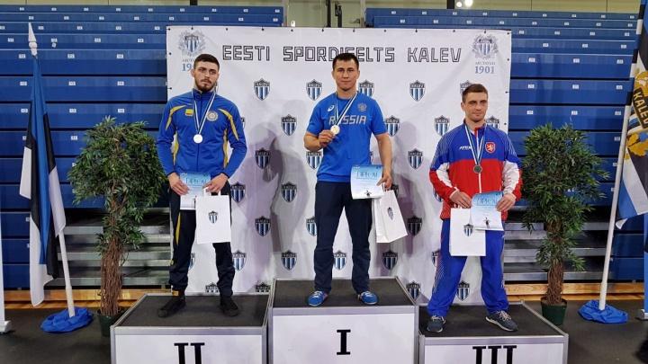 Роман Власов взял золото на турнире в Эстонии
