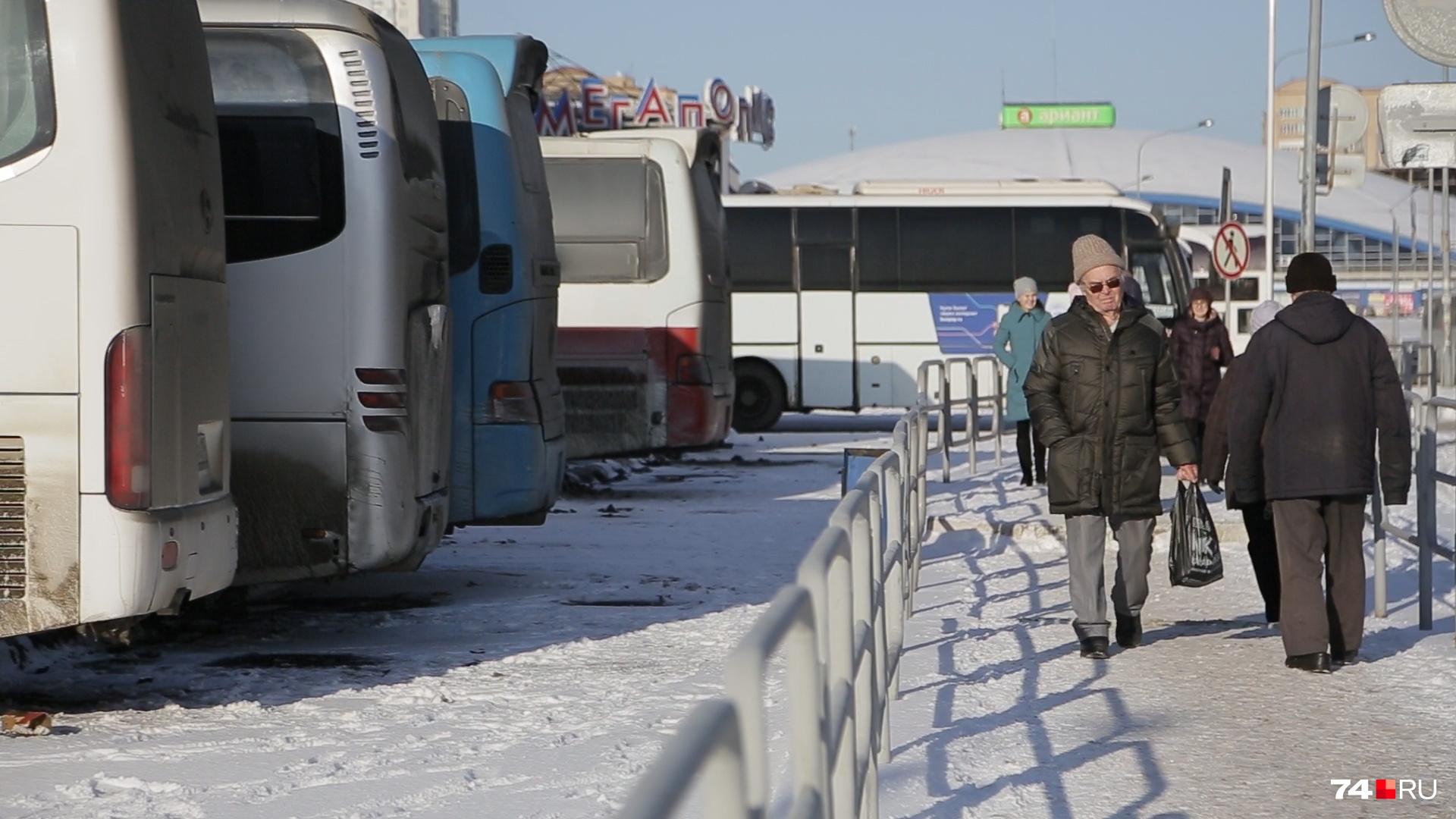 Жители считали, что центр города не место для скопления автобусов