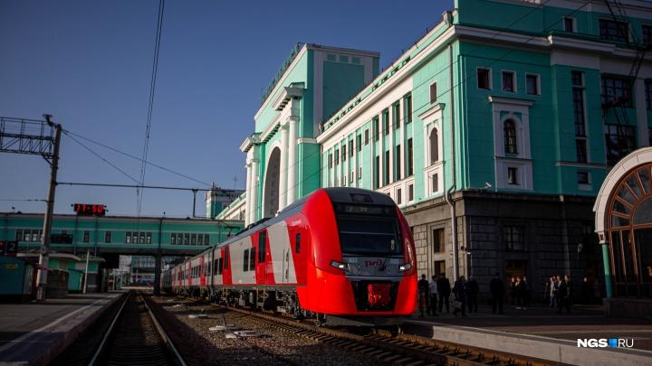 Первая «Ласточка»: скоростной поезд Новосибирск — Барнаул планируют запустить в следующем году