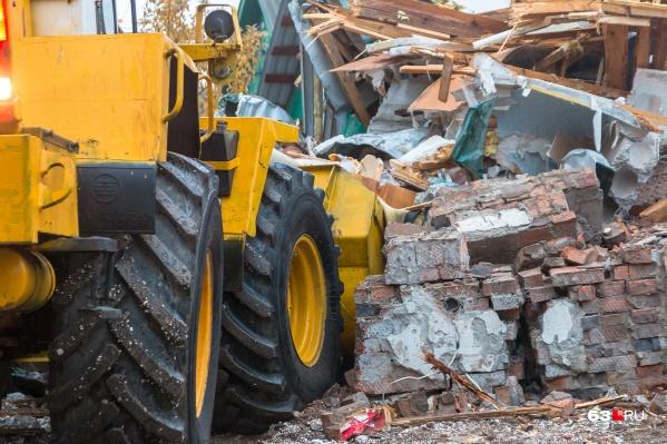 Дома сровняют с землей в 2019–2020 годах