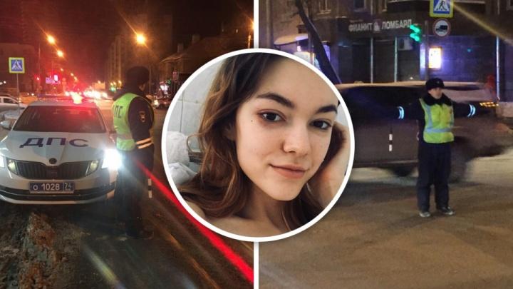 Момент ДТП со сбитой на пешеходном переходе девушкой в Челябинске попал на видео
