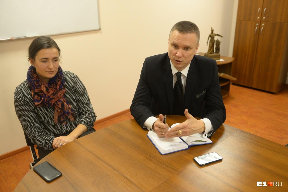 Дарья Ди Сальвио и её защитник Михаил Трясоумов