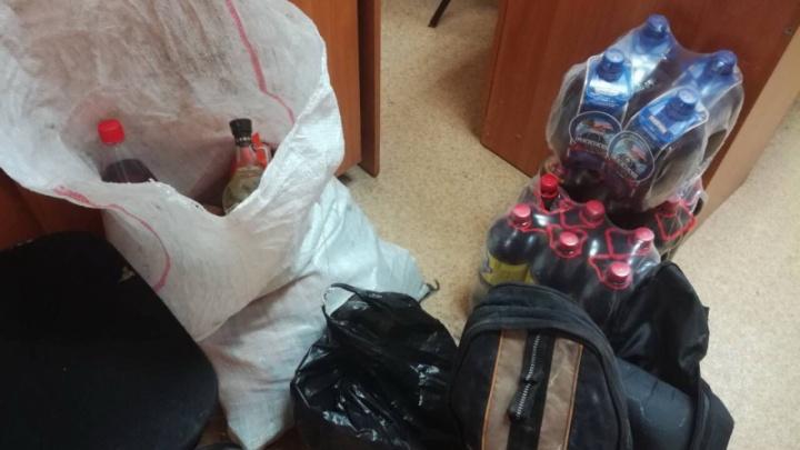 Родители с сыном-подростком попытались ограбить магазин в Омской области