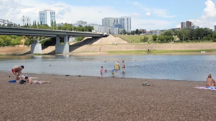 Этим летом в Башкирии безопасно купаться и загорать можно будет только в 75 местах