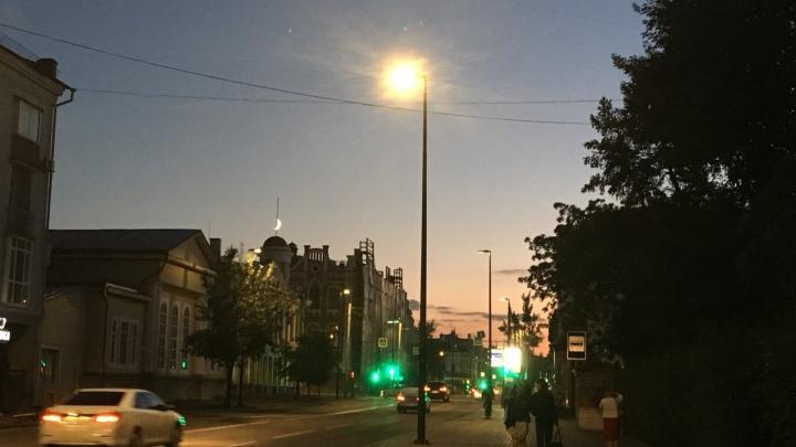 «Без фильтров»: красноярцы восхитились красотой неба перед закатом