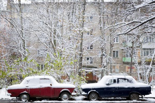 Водителям пора готовить машины к зимнему сезону