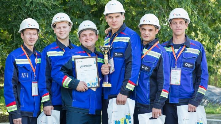 Огненная победа: Канская ТЭЦ выиграла в соревнованиях среди добровольных пожарных формирований
