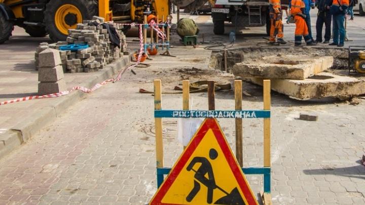 В Таганроге снова обрушился канализационный коллектор