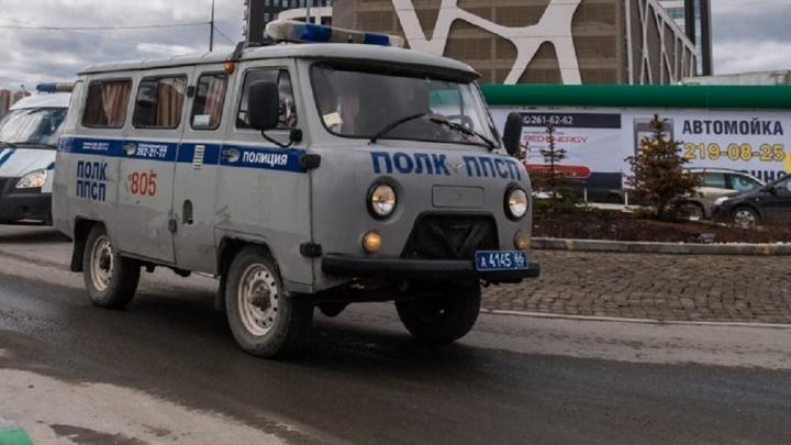 На стройке в центре Екатеринбурга нашли ржавый предмет, похожий на противотанковую мину