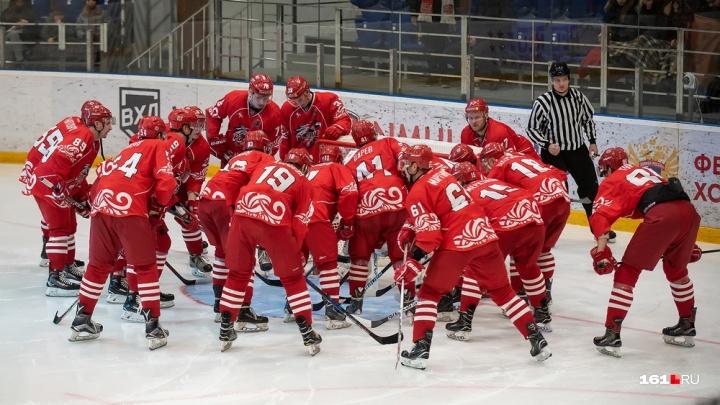 ХК «Ростов» — чемпион первенства ВХЛ